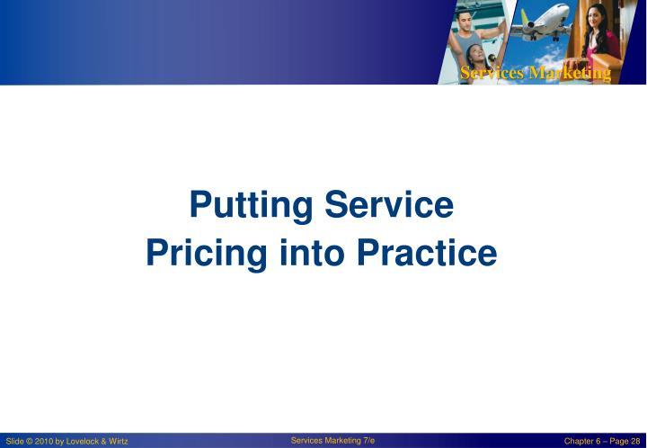 Putting Service
