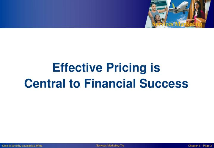 Effective Pricing is