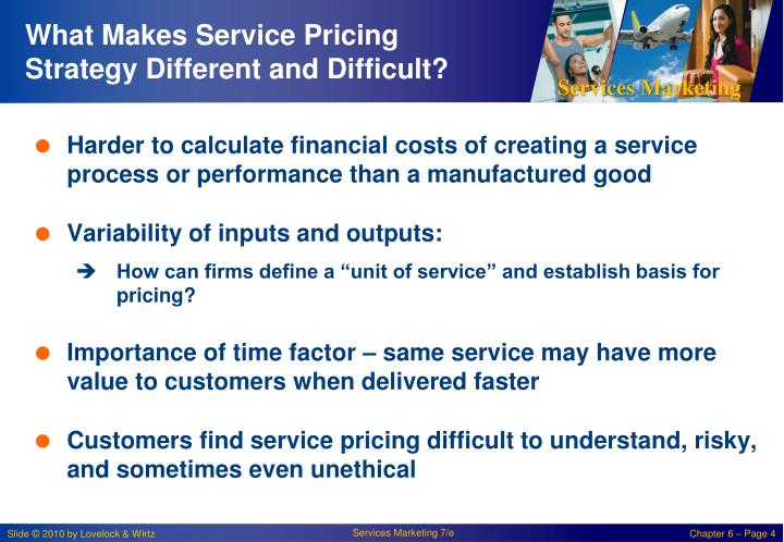 What Makes Service Pricing Strategy Different and Difficult?