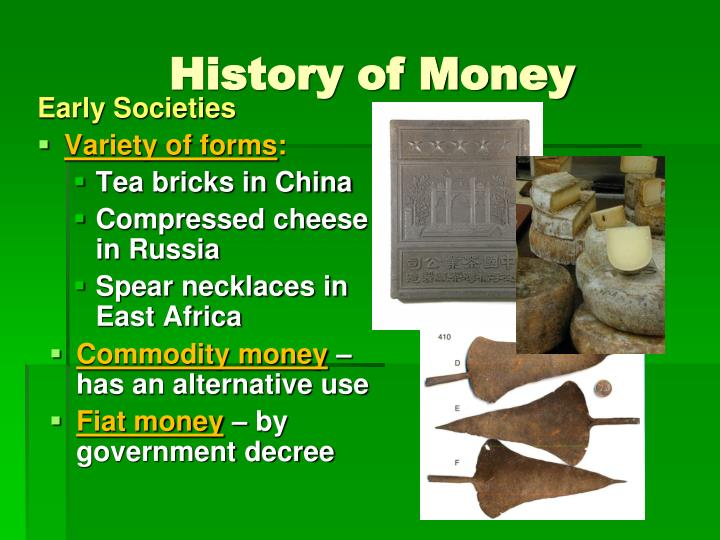 History of Money