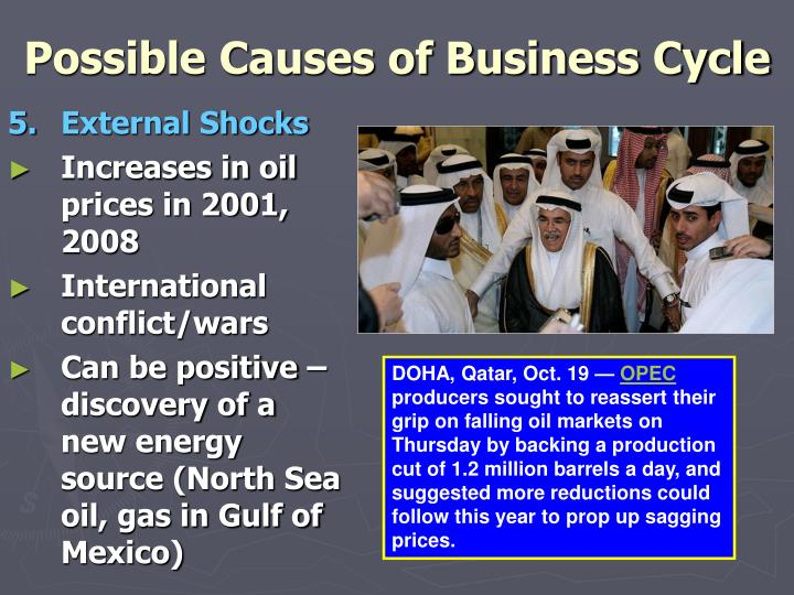 Possible Causes of Business Cycle