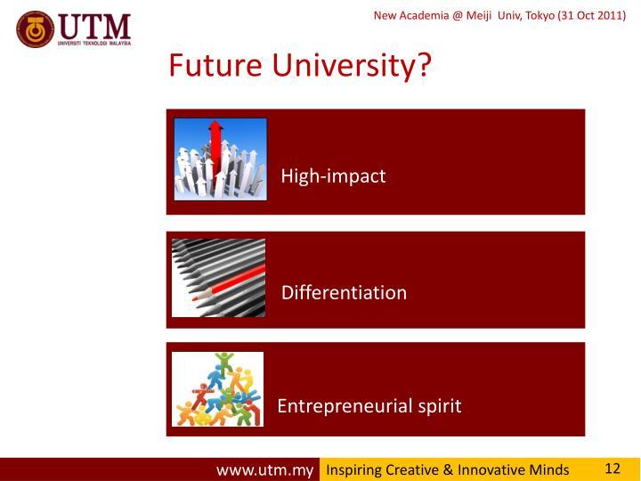 Future University?