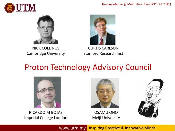 Proton Technology Advisory Council