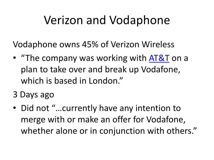 Verizon and