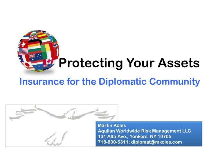 Protecting your assets