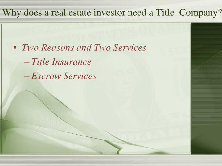 what does title insurance not cover