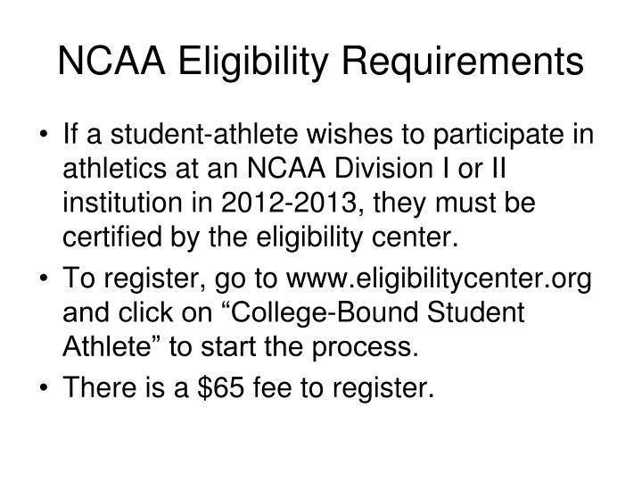 the ncaa and student athlete issues Student-athlete participation in intercollegiate athletic specific issues within the other of both current and former ncaa student-athletes.