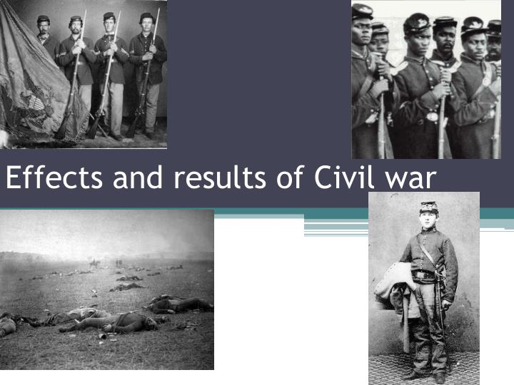 the economic effects of the civil war