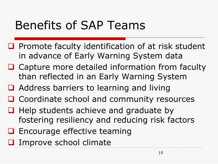 Benefits of SAP Teams