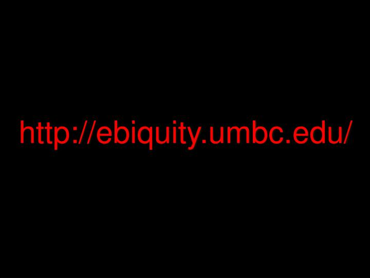http://ebiquity.umbc.edu/