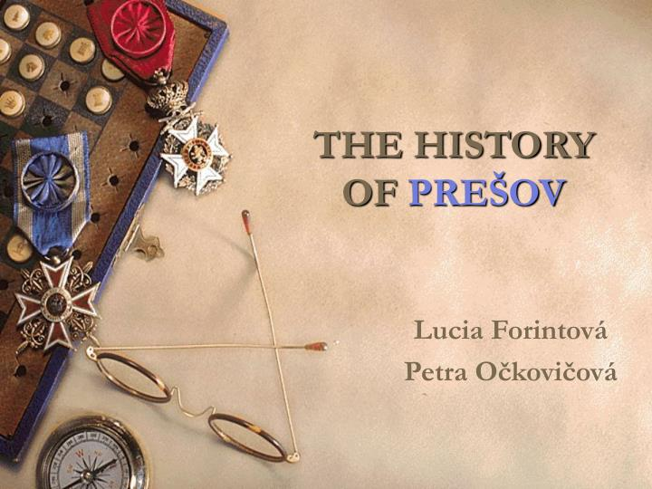 The history of pre ov