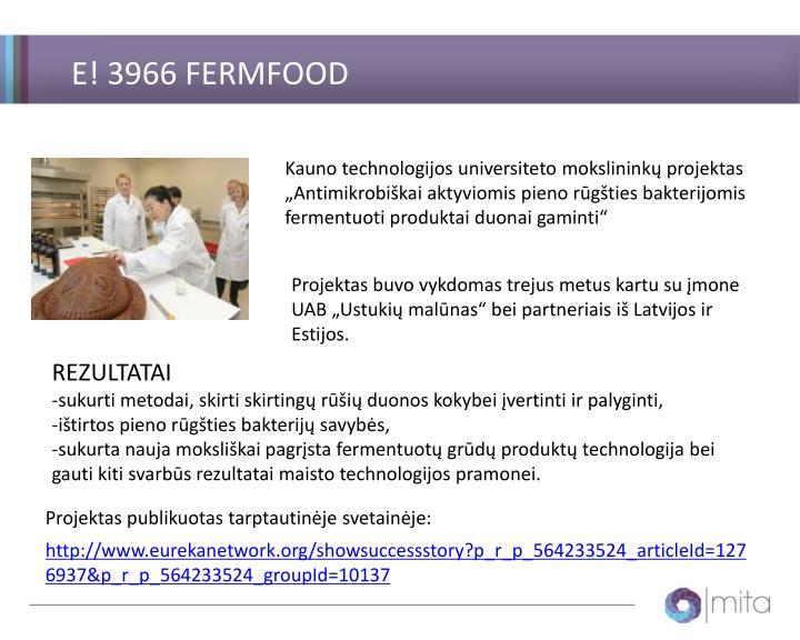 E! 3966 FERMFOOD