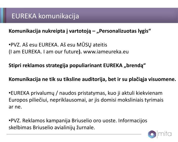 EUREKA komunikacija