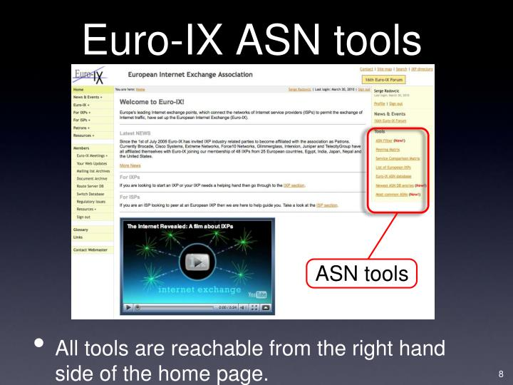 ASN tools