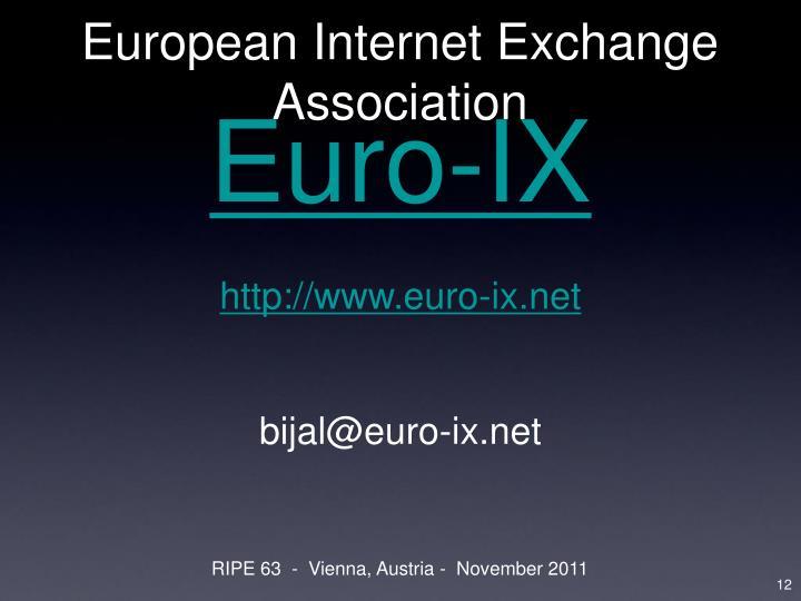 European Internet Exchange Association