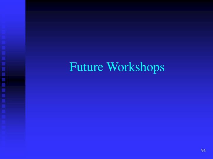 Future Workshops