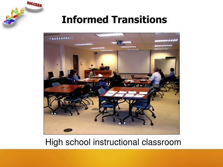 Informed Transitions