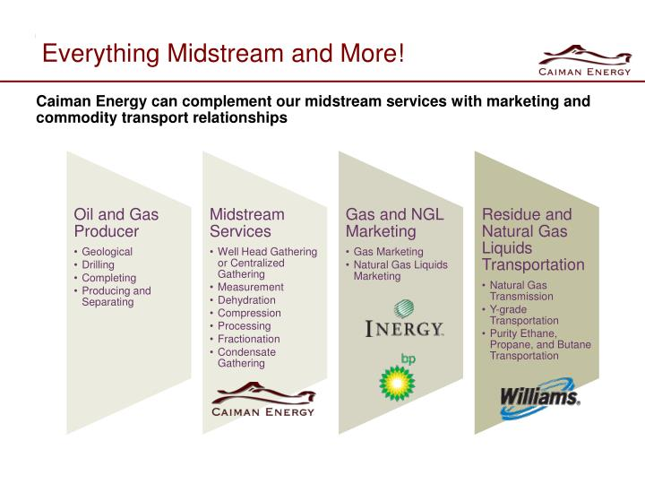 Everything Midstream and More!
