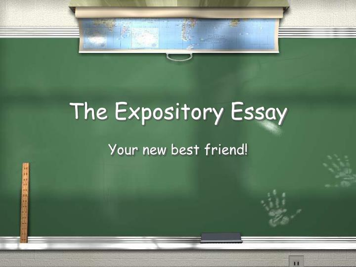 powerpoint presentation on expository essay Presentation will be done quickly and will look very stylish and professional moreover, even difficult and complicated tasks are affordable for everyone because we aim to satisfy all our customers consequently, you can learn how to order powerpoint presentation and unique visual cues, and get all your essays completed.