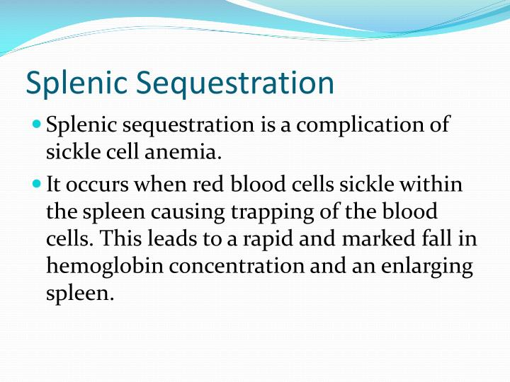 Splenic Sequestration