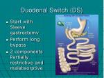 duodenal switch ds