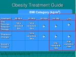 obesity treatment guide