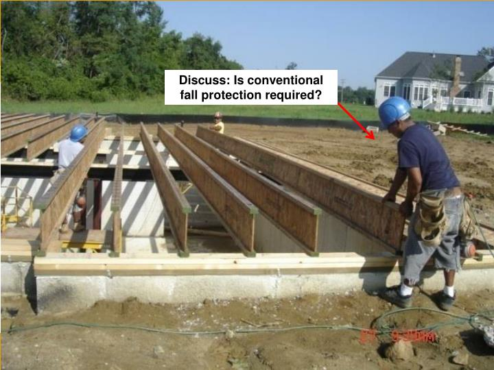 Floor Joist/Truss Installation