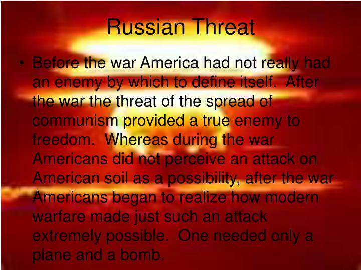 Russian Threat