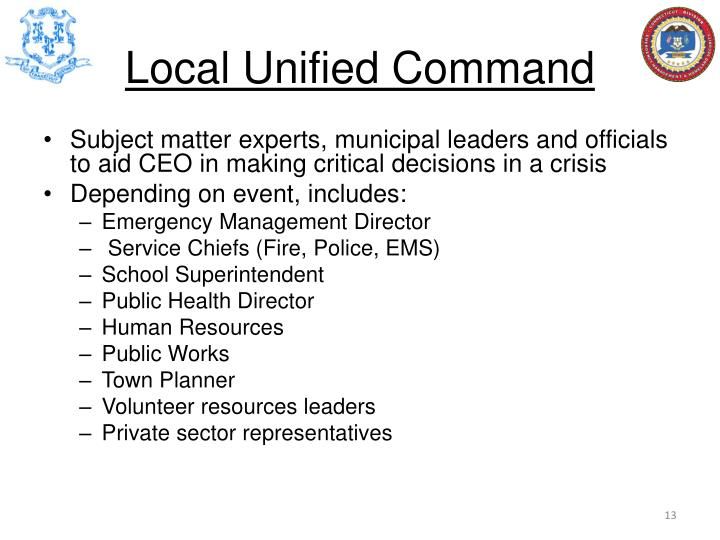 Local Unified Command