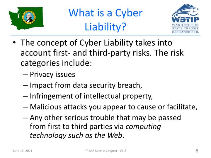 What is a Cyber Liability?