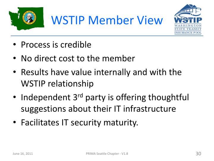 WSTIP Member View