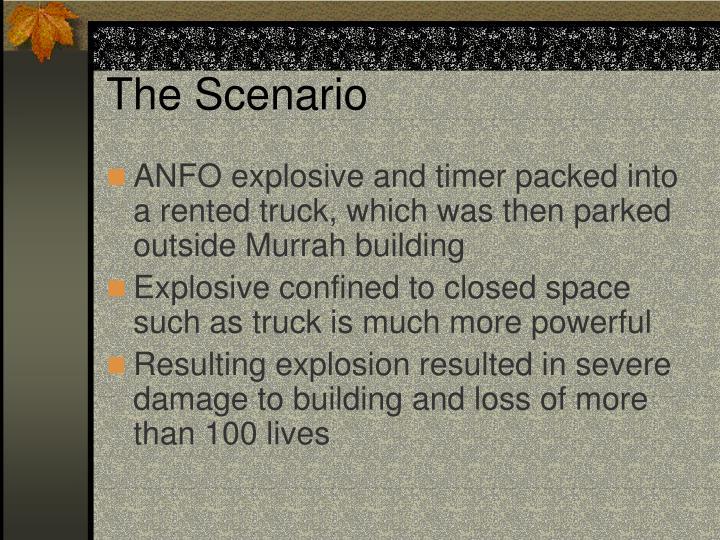 The Scenario