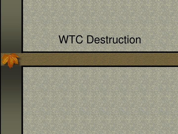 WTC Destruction