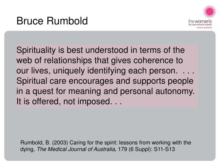 Bruce Rumbold
