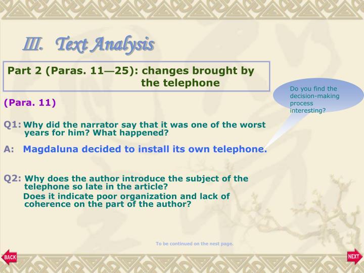Part 2 (Paras. 11