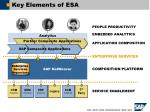 key elements of esa