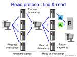 read protocol find read