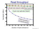 read throughput