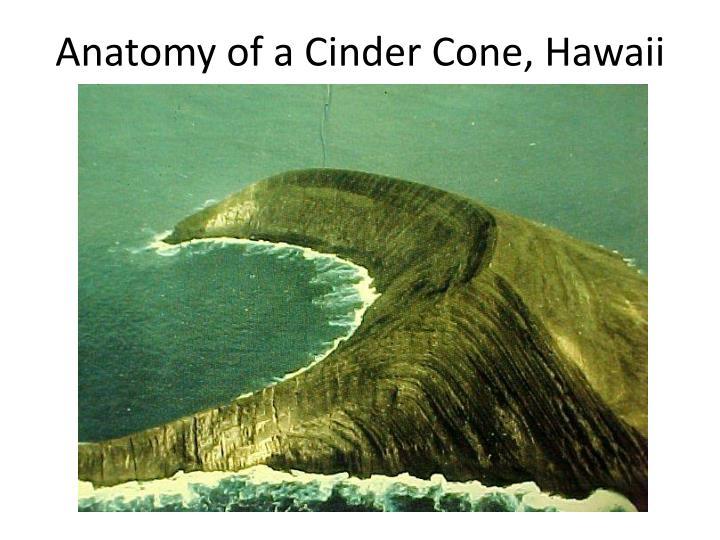 Anatomy of a Cinder Cone, Hawaii