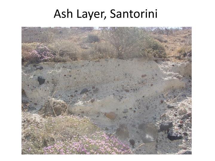 Ash Layer, Santorini