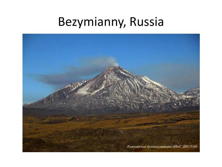 Bezymianny, Russia