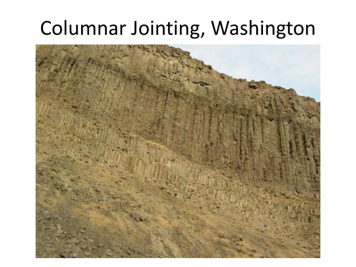 Columnar Jointing, Washington