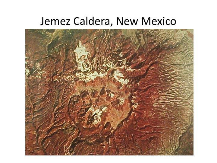 Jemez Caldera, New Mexico