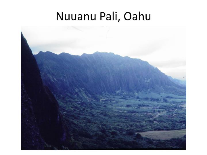Nuuanu Pali, Oahu