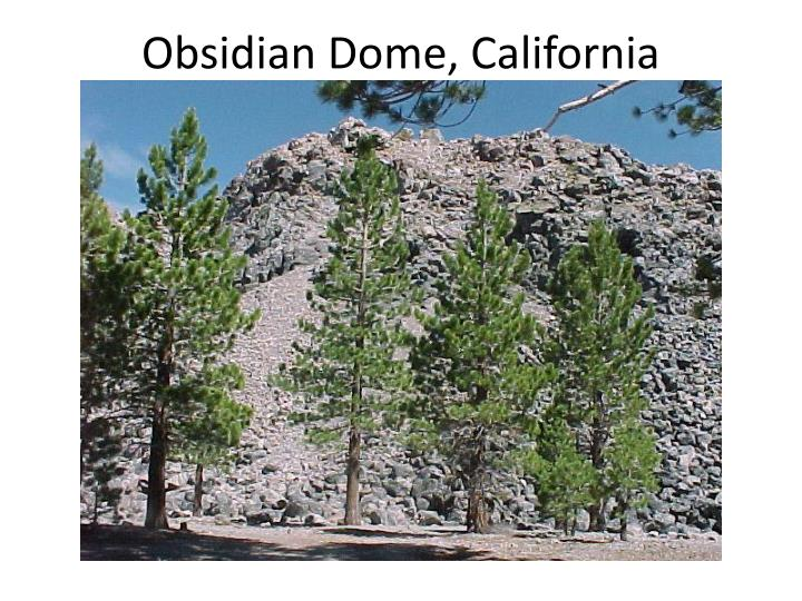 Obsidian Dome, California