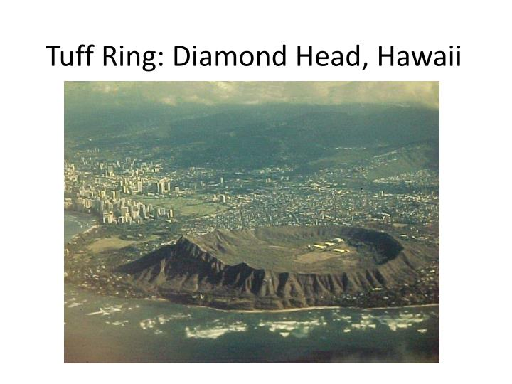 Tuff Ring: Diamond Head, Hawaii