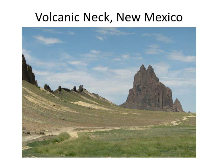 Volcanic Neck, New Mexico