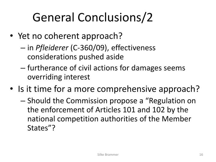 General Conclusions/2