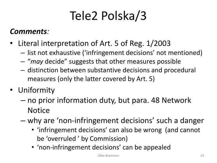Tele2 Polska/3