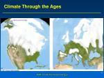 climate through the ages1